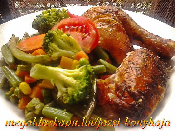 JÓ ÉTVÁGYAT KÍVÁNOK ! Csirke egészben sütve http://megoldaskapu.hu/csirke-receptek/csirke-egeszben-sutve