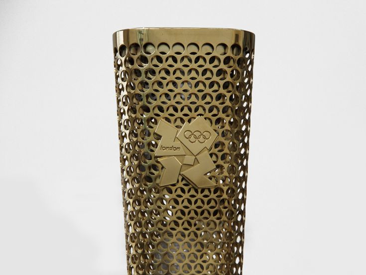 the 2012 olympic torch. design of the year apparently. i think they deserve it just because they made the logo somehow work.