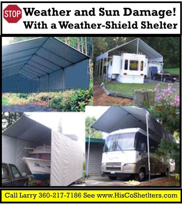 We Finally Finished The Rv Carport: 12 Best Shelter Logic Portable Garage Images On Pinterest
