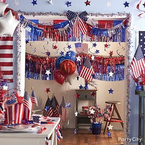 87 best patriotic party ideas images on pinterest for 4th of july party decoration