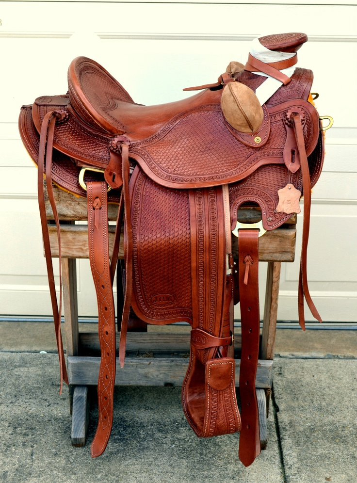 16 Western Buckaroo Roping Ranch Trail Wade A Fork Saddle No Reserve | eBay