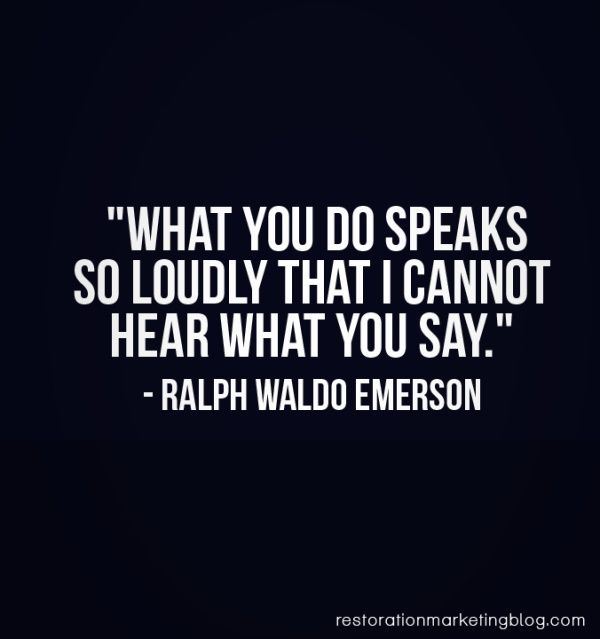 Actions Speak Louder Than Words Inspiring Ideas Quotes