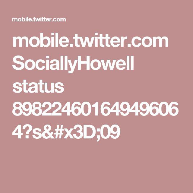 mobile.twitter.com SociallyHowell status 898224601649496064?s=09