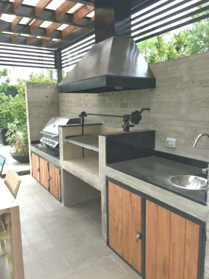 60 Idees De Terrasse De Cuisine Legeres Et Charmantes 2019 Page 20 Cucine Aperte Piccole Banconi Da Cucina Da Esterno Patio Cucina Esterna