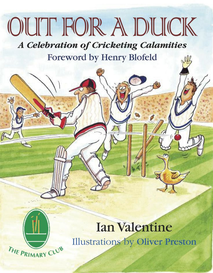 Out for a Duck by Ian Valentine | Quiller Publishing. Cricket is usually told from the viewpoint of the winners. Out for a Duck: A Celebration of Cricketing Calamities champions the unfortunate cricketers who made those victories possible. For every record knock or wicket haul, every partnership or brilliant catch, there will be a batsman, bowler or fielder who has been on the receiving end. No cricketer is spared failure in his career.