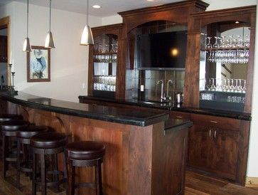Wet Bar In Family Room