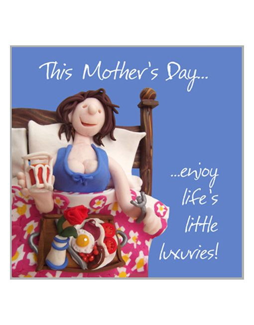 Relax on Mother's Day.