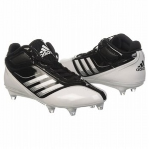 SALE - Adidas EC1303649 Football Cleats Mens Black Leather - Was $95.00 - SAVE $5.00. BUY Now - ONLY $90.25