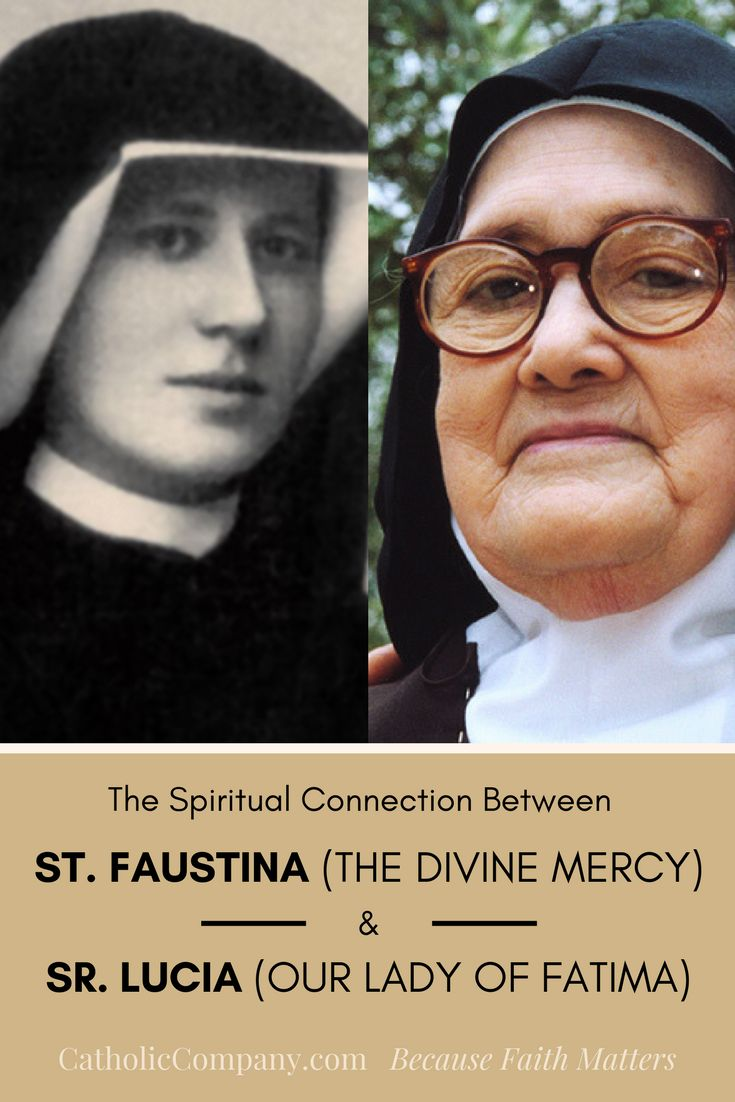 The Connection Between St. Faustina and Fatima | Get Fed | A Catholic Blog to Feed Your Faith