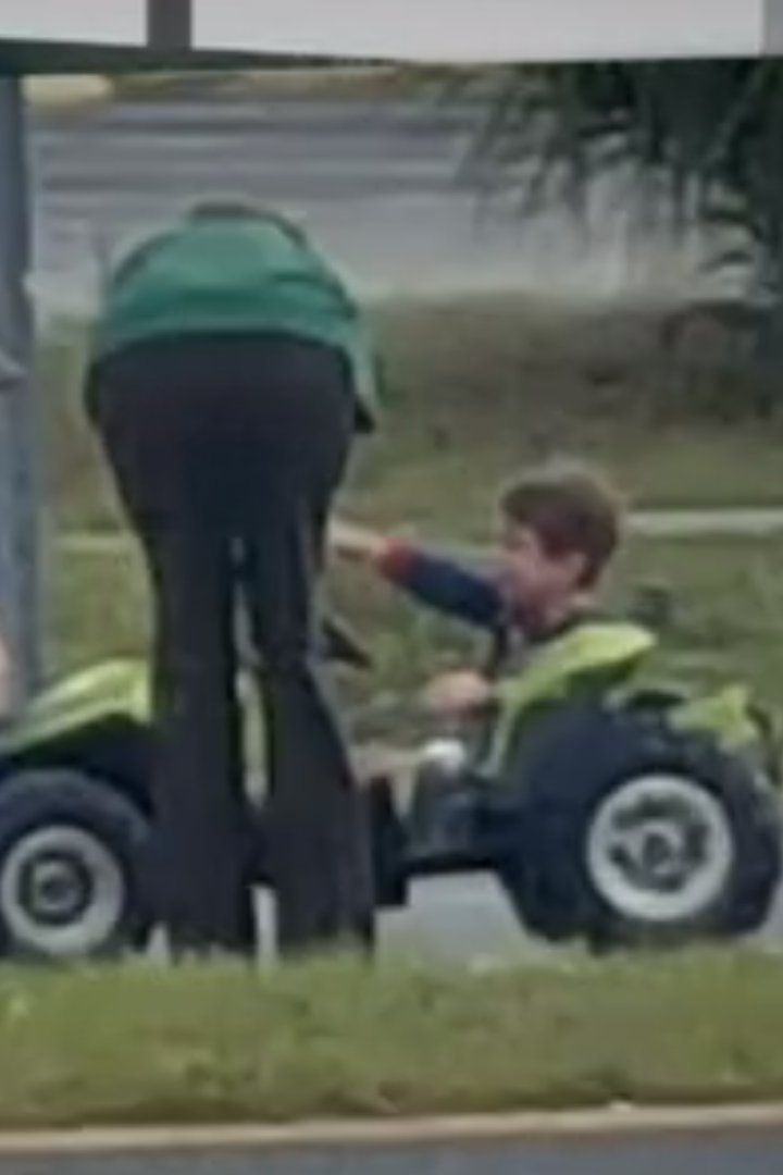 You Won't Believe Where This 3-Year-Old and His Power Wheels Truck Were Found