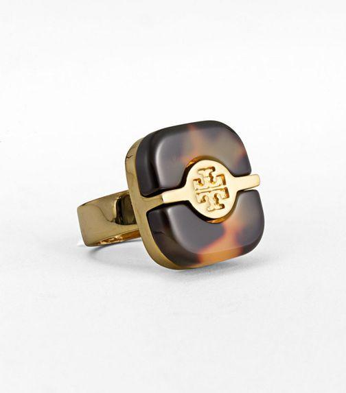 Tortoiseshell Ring - Tory Burch!!!!!!!!!!!!!!!!Tortoies Jewelry, Tory Burch, Tortoies Shells, Tortoies Rings, Plates Rings, Split Plates, Tortoiseshell, Burch Rings, Tortoises Shells