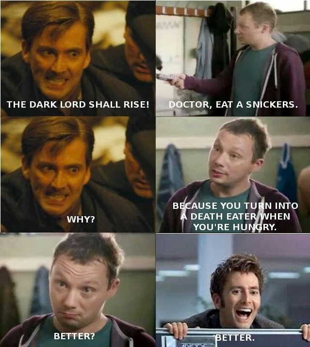 Doctor Who / Harry Potter