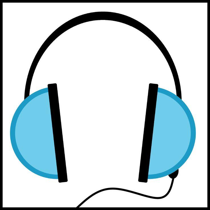 Kaartjes kiesbord - koptelefoon -  luisterhoek