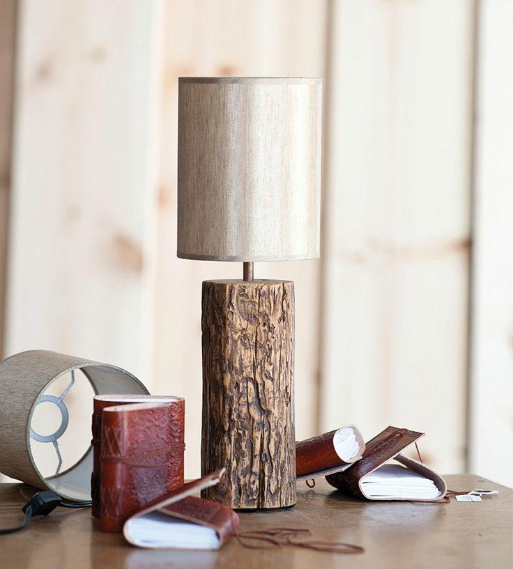Jackson Repurposed Elm Lamp