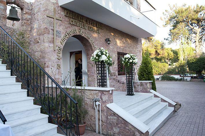 Catholic wedding in Greece