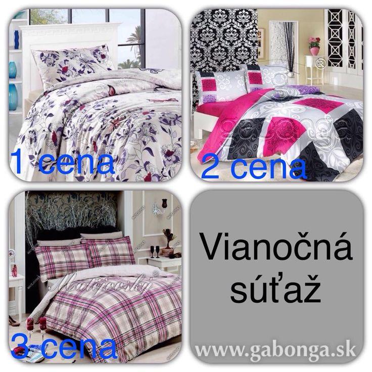 Bed linen for everyone.  More: http://www.gabonga.sk/novinky-postelne-pradlo-postelna-bielizen/vianoce-s-gabongou-2014