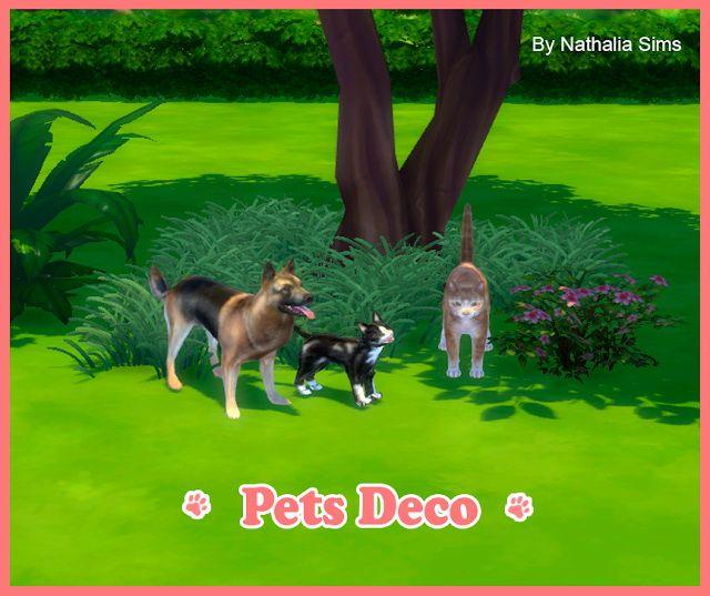 Pets Deco at Nathalia Sims • Sims 4 Updates
