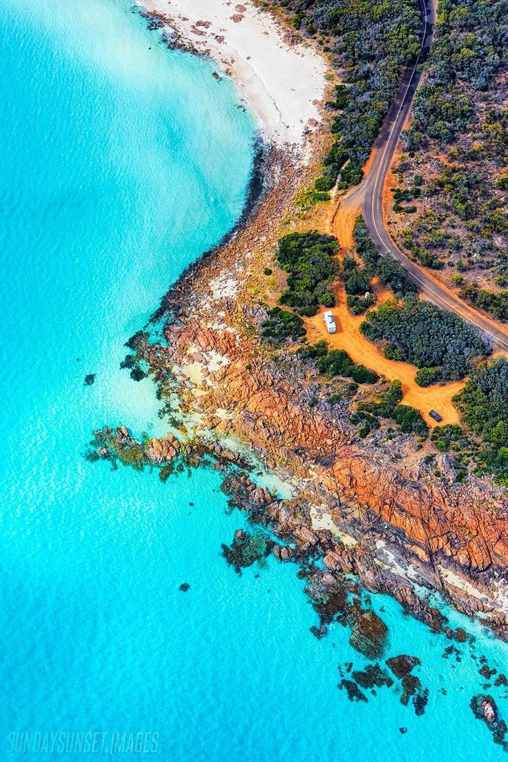 Point Picquet in the SW of Western Australia, looking rather special More