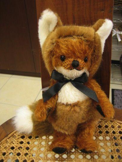 Punkie Little Fox - テディベア専門店 ペンブローク