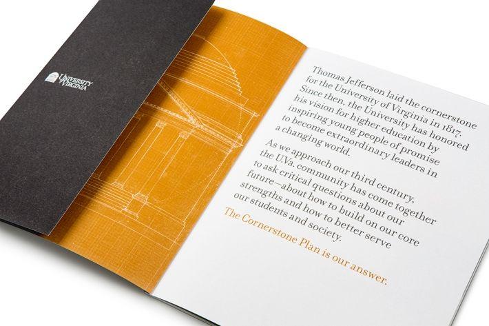 University of Virginia Strategic Plan. Cool graphic elements.