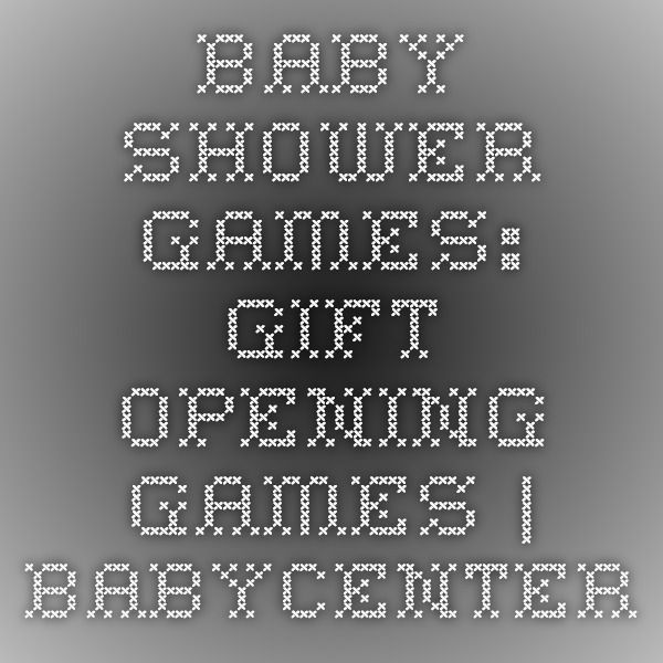 Baby shower games Action games  BabyCenter