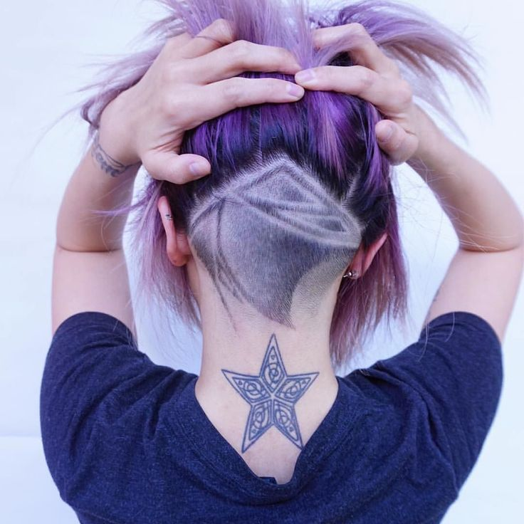This wavy undercut has us seeing stars  Hair by @evalam_ Eva we want more!  #hotforbeauty by hotforbeauty