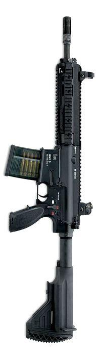 """HK417 12"""" 'Assaulter' model."""