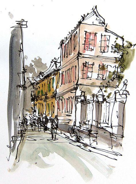 178 Best Pen Sketch U0026 Drawings Images On Pinterest   To Draw Urban Sketching And Artist Sketchbook