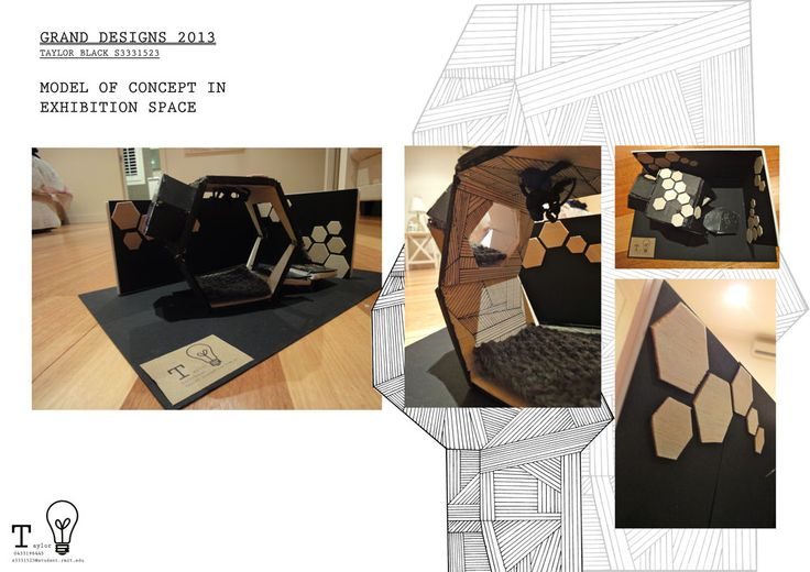 Grand design 2013 model not to scale taylor black for Interior design decoration diploma