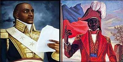 Toussaint et Dessalines