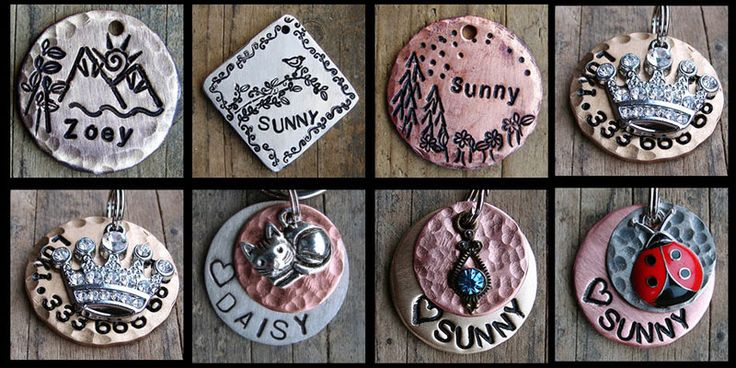 Dog tags uk. Get your dog id tags and engraved dog tags that are a bit different from the norm. Dog name tags for your dog. http://dog-lovers.co.uk/178/unusual-dog-id-tags-for-your-dog/