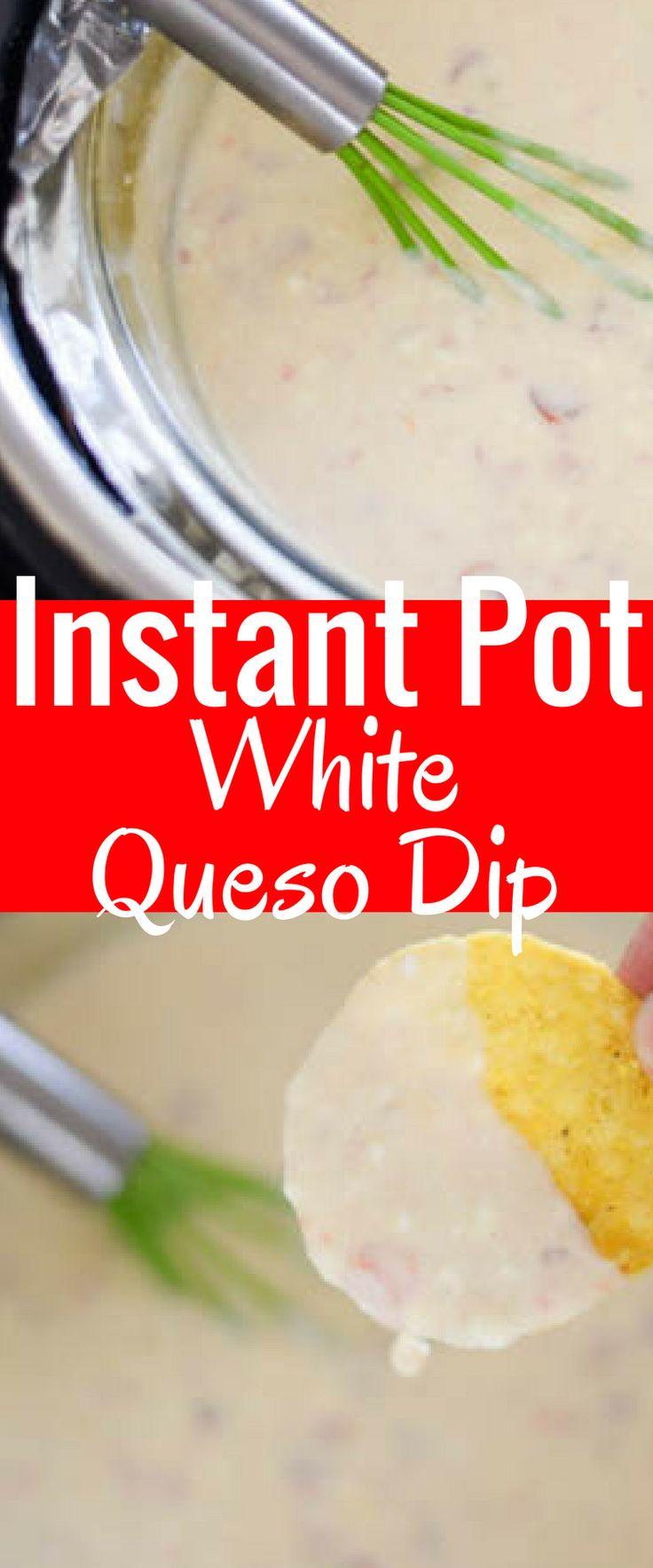 Instant Pot White Queso