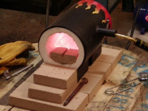 Knife Forging Ovens : Best images about metal forging and blacksmithing on