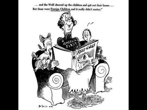 Wow! Dr. Seuss WWII Political Cartoons