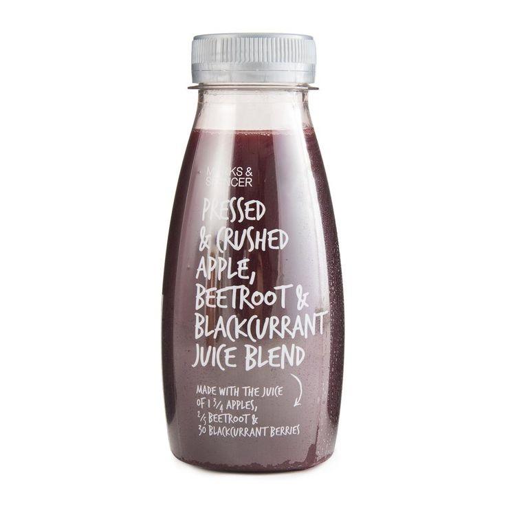 M&S Apple, Beetroot & Blackcurrant Juice Blend 250ml