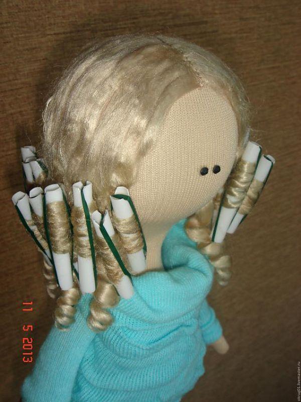 Penteado boneca ... - Feira Mestres - artesanal, feito à mão
