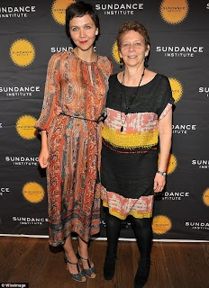 Screenwriter Naomi Foner Gyllenhaal with daughter Maggie.