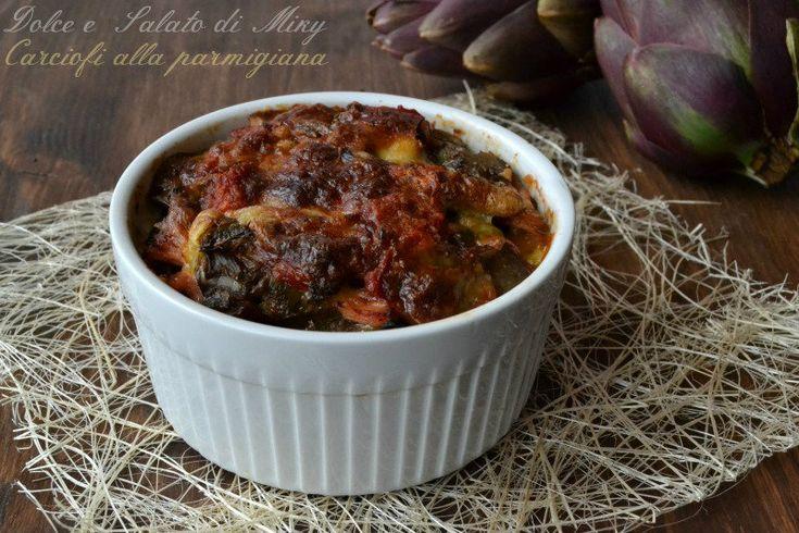 La ricetta dei carciofi alla parmigiana facile e leggera anche se ben condita perchè non fritti.