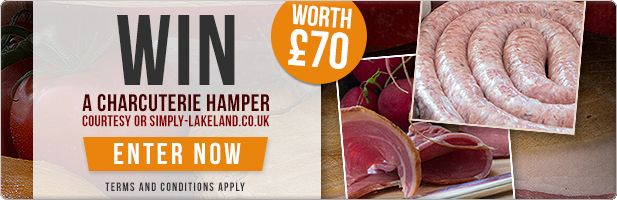 Win a Charcuterie Hamper worth £70 from Simply Lakeland!   Find Me A Gift Blog