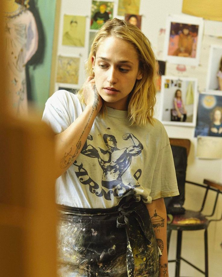 """I just didn't know if it was for me, but it definitely is."" #JemimaKirke is ready to embrace being an artist full-time (click the link in our bio to go inside her studio). Photo by @alexhodorlee."