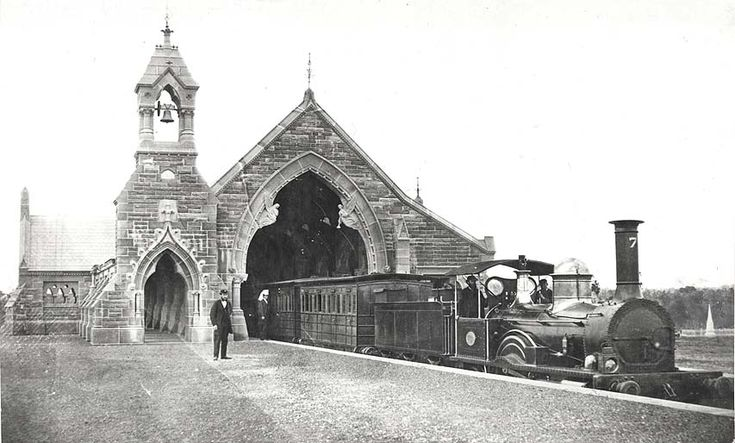 1920's? - Mortuary Railway Station - Rookwood Cemetery Funeral Train