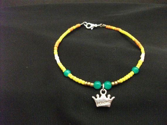 Princess Daisy Mario inspired Handmade Beaded by JadesGeekery