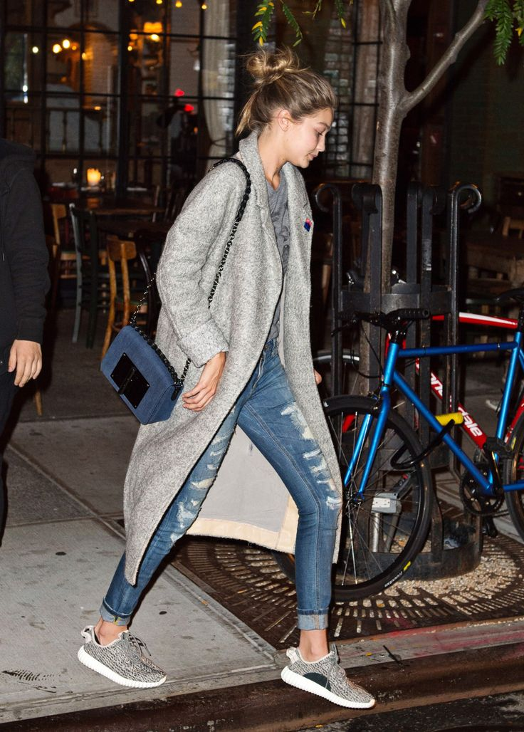 Gigi Hadid - Night out in New York City, October 14, 2015.