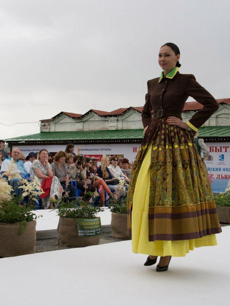 XI-й Российский фестиваль моды «Плес на Волге. Льняная палитра». – 126 фотографий | ВКонтакте