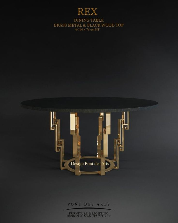 REX Dining table - Designer Monzer Hammoud - Pont des Arts Studio-Paris