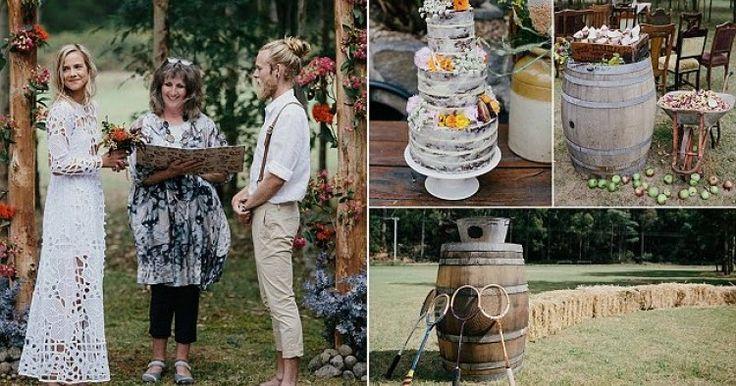 Αυτό το Ζευγάρι από την Αυστραλία έκανε τον ΠΙΟ χίπστερ Γάμο όλων των Εποχών!