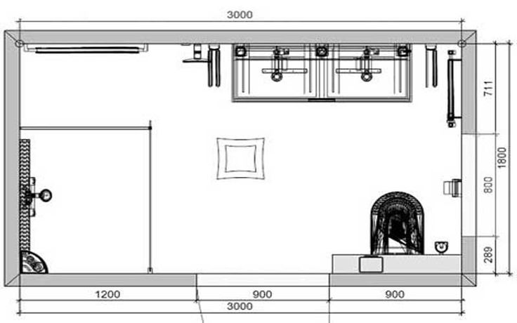 Badkamer-15-plattegrond