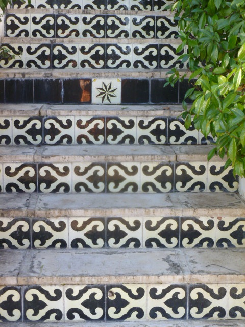 Mosiac steps