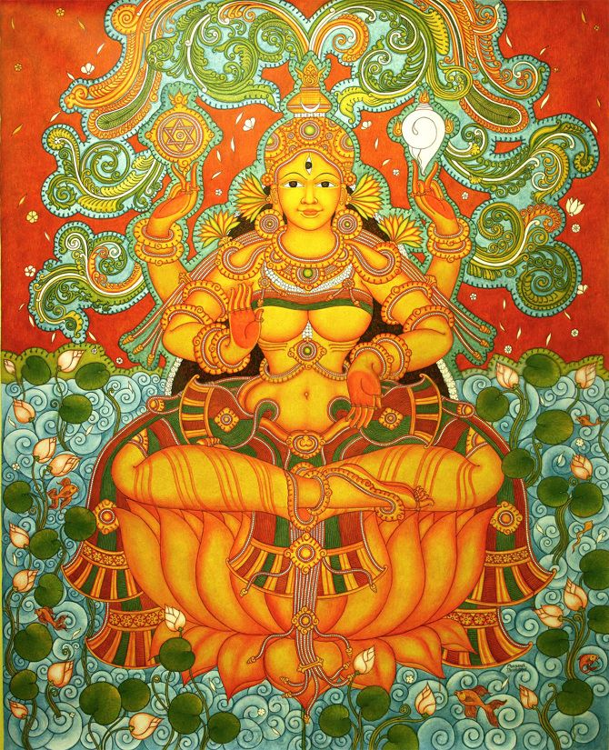 kerala mural tree - Google Search