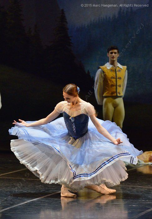 Svetlana Zakharova as Giselle in Act 1 of La Scala Ballet's Giselle.